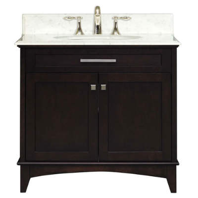 Manhattan Collection 30 Inch Bathroom Vanity Set