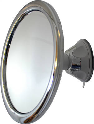 Fog Free 3X Shower Mirror And Makeup Mirror