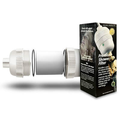 New Wave Enviro Shower Filter System