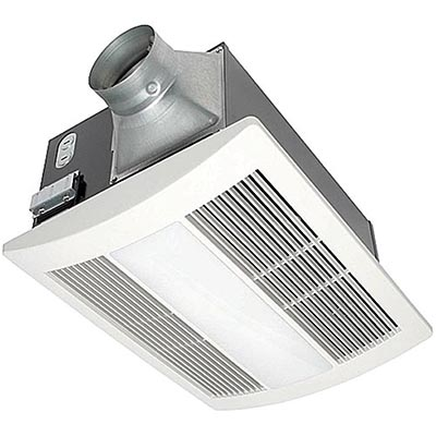Panasonic FV 11VHL2 WhisperWarm 110 CFM Ceiling Mounted Fan
