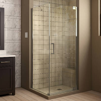 youtube door showers com corner installation tiled enclosure tumbeela base shower dreamline