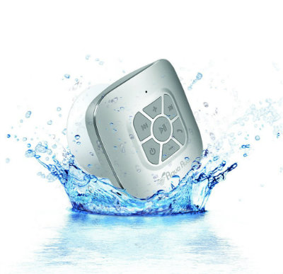 Portable Waterproof Bluetooth Shower Speaker