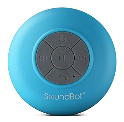 SoundBot SB510 HD Water Resistant Bluetooth Shower Speaker