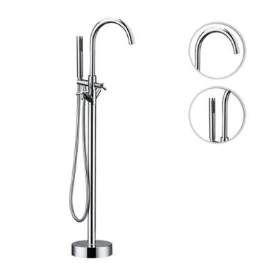 floor mount tub filler
