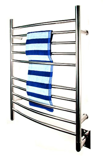 Amba RWH CP Radiant Hardwired Curved Towel Warmer