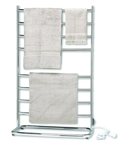 warmrails whc hyde park 39 inch family size floor standing towel warmer - Towel Warmer Rack