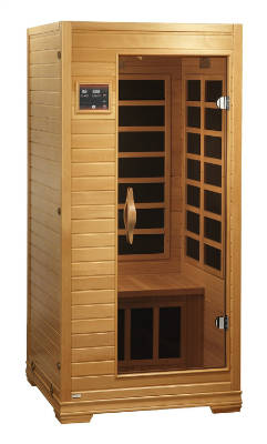 BetterLife BL6109 1 2 Person Carbon Infrared Sauna With ChromoTherapy Lighting