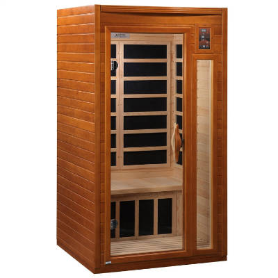 DYNAMIC SAUNAS AMZ DYN 6106 01 Barcelona 1 2 Person Far Infrared Sauna