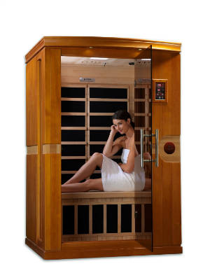 DYNAMIC SAUNAS AMZ DYN 6210 01 Venice 2 Person Far Infrared Sauna