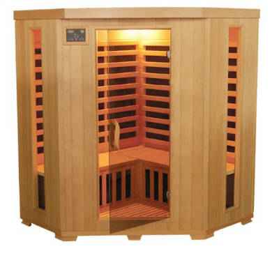 TheraPureSauna ESF302CHCB Infrared Heat Sauna