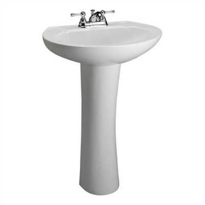 Barclay 3 201WH Hampshire 450 Pedestal Lavatory