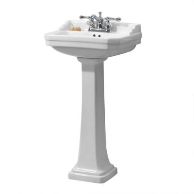 Foremost Group FL 1920 4W Pedestal Combo Bathroom Sink