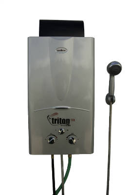 Triton 10L Portable Water Heater Silver