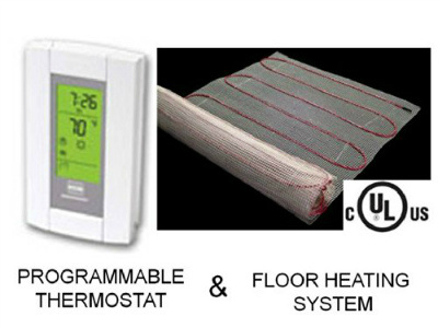 Warming Systems 20 Sqft Mat Electric Radiant Floor Heat Heating System