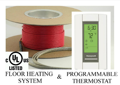 Warming Systems 50 Sqft Cable Set Electric Radiant Floor Heat Heating System