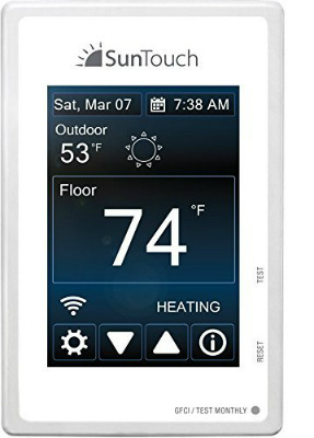 WiFi Enabled Touchscreen Programmable Thermostat