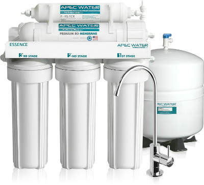 APEC Premium 5 Stage Reverse Osmosis Drinking Water Filter System
