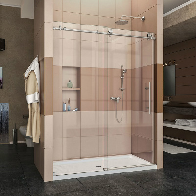 DreamLine Enigma X Frameless Sliding Shower Door