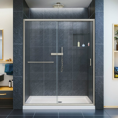DreamLine Infinity Z Frameless Sliding Shower Door
