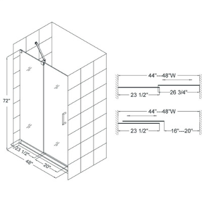 Measuring Shower Doors