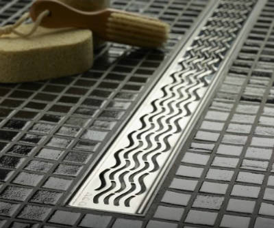 ACO 37241 Quartz Plus 3 Feet Wavy Grate Design