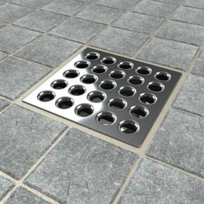 Awesome Ebbe E4401 Square Shower Drain Grate