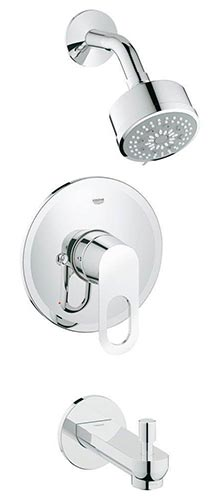 Grohe 26017000 BauLoop Tub Shower Combo