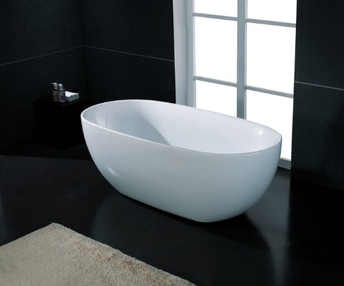 AKDY Bathroom White Color FreeStand Acrylic Bathtub