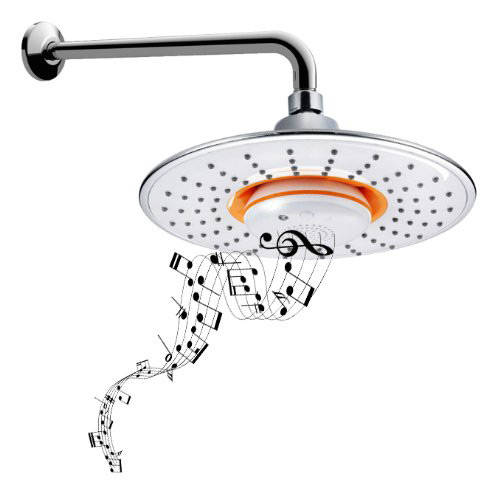Bidet4me Msh 10 Musical Showerhead Waterproof Speaker Bluetooth Shower Arm