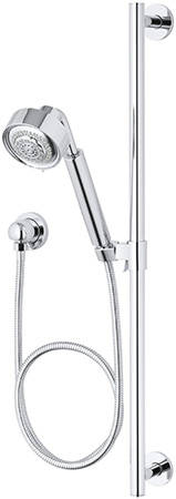 Kohler K 9059 CP Contemporary Handshower Kit Polished Chrome