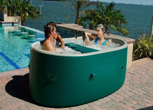 hot portable three softub better girlfriends is tub pettis in simple patio tubs soft softubs spas pools