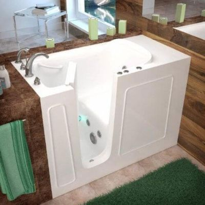 Best walk in tub reviews in 2018 for Walk in tub water capacity